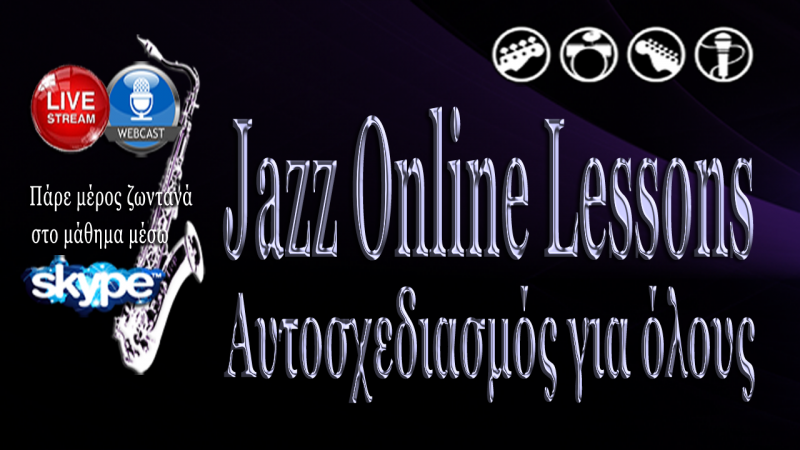 Jazz Online Lessons by Saxelectro